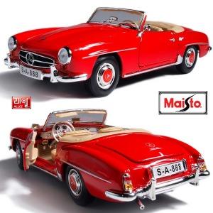 1:18 스페셜 1955 벤츠 190SL - 레드/키덜트/클래식카