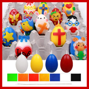 부활절달걀 30개/양초만들기/이야코/만들기재료
