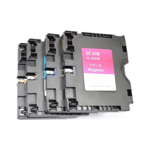 Inkcool 4PK Compatible Ricoh GC41 GC41BK GC41C ...