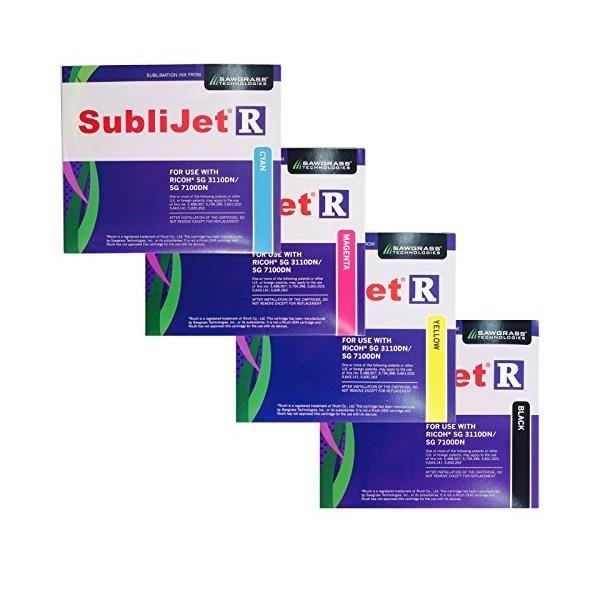 Full Set Sublijet-R SG 3110DN SG 7100DN Ink Car...