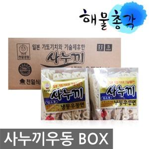 사누끼우동 (230gX40개) 천일식품 면 쯔유 가쓰오부시
