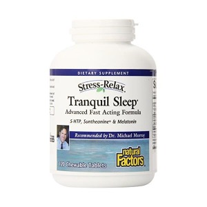 Natural Factors Stress-Relax Tranquil Sleep Tab...