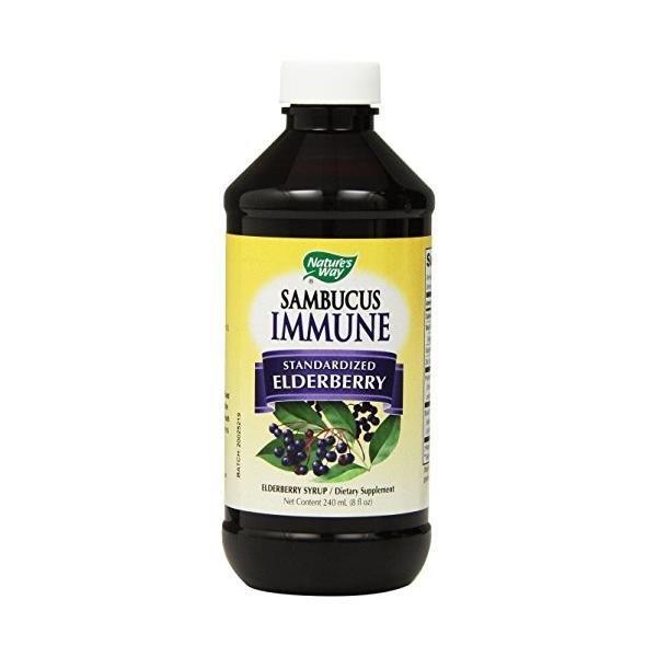 Natures Way Sambucus Elderberry  Immune Syrup  ...