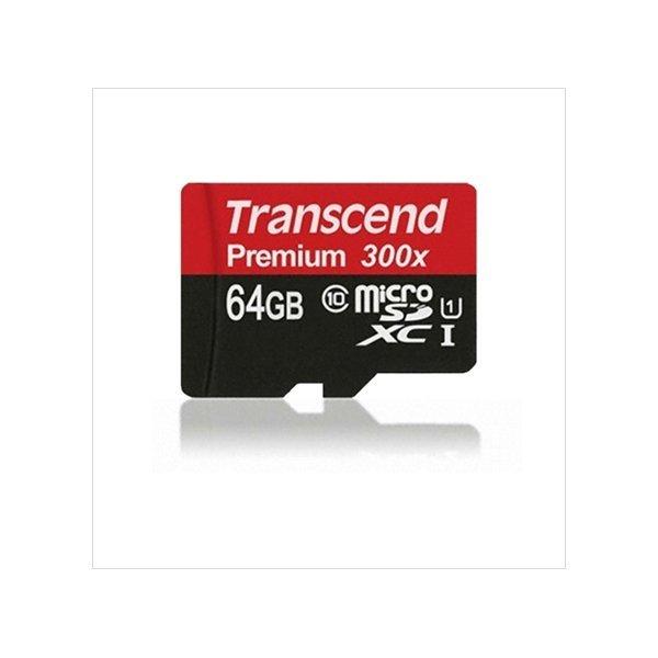 트랜센드 MicroSDXC Class10 300X UHS-1 64GB