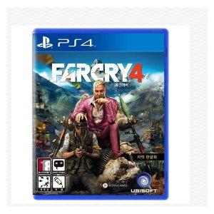 (PS4) 파크라이4 한글 정식발매/ 중고제품
