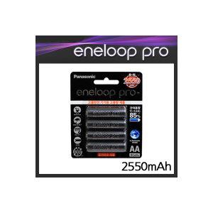 파나소닉 정품 에네루프 프로 AA 4알 충전지 2550mAh