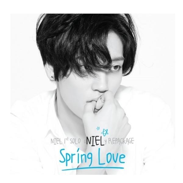 (포스터무료증정)/니엘(Niel) - oNIELy Repackage: Spring Love/포토북80P/포토카드1종삽입/4월14일발매