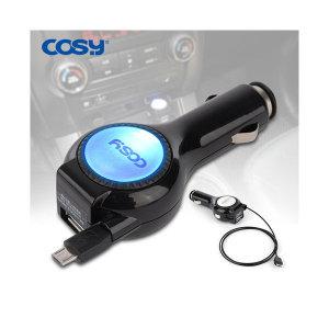 CGR1333AT/마이크로5핀 자동감김 고속 차량용충전기