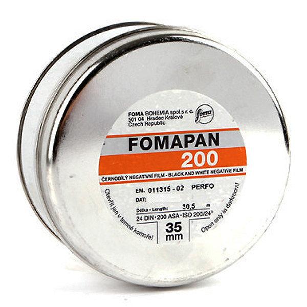 FOMA 포마 흑백필름 200 100피트 (35mm x 100Ft)