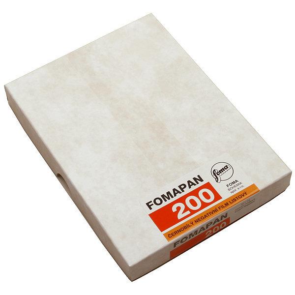 FOMA 포마 흑백필름 포마팬 200 4X5 대형 (50매)