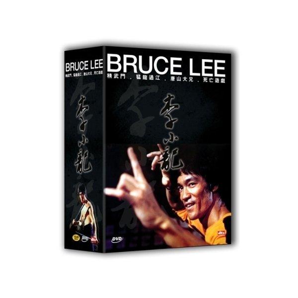 이소룡 박스 세트 (당산대형 + 정무문 + 맹룡과강 + 사망유희) (4 DISC)   BRUCE LEE BOX SET (4 DISC)