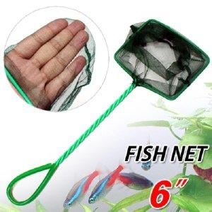 Fish Net 뜰채 6 인치