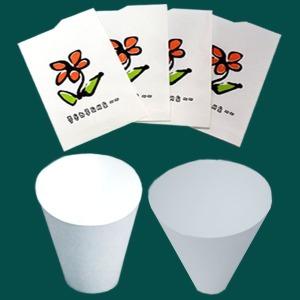 봉투컵 생수컵이지컵정수기종이컵정수기컵물컵원뿔컵