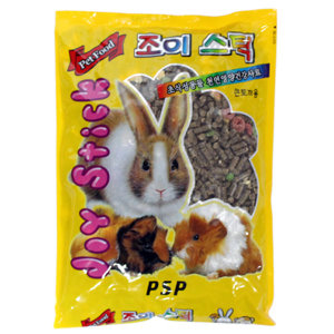 PSP 조이스틱 큰토끼용 730g/토끼 기니피그 사료 먹이