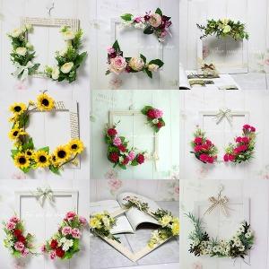 포유더샵 봉안당 납골당 조화 꽃 장식 꾸미기 리스 벽