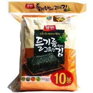 동원 양반김 들기름 전장김20봉(5매x20봉)