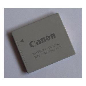 정품재고/캐논배터리팩 NB-4L (포장없음) 3.7V 760mAh