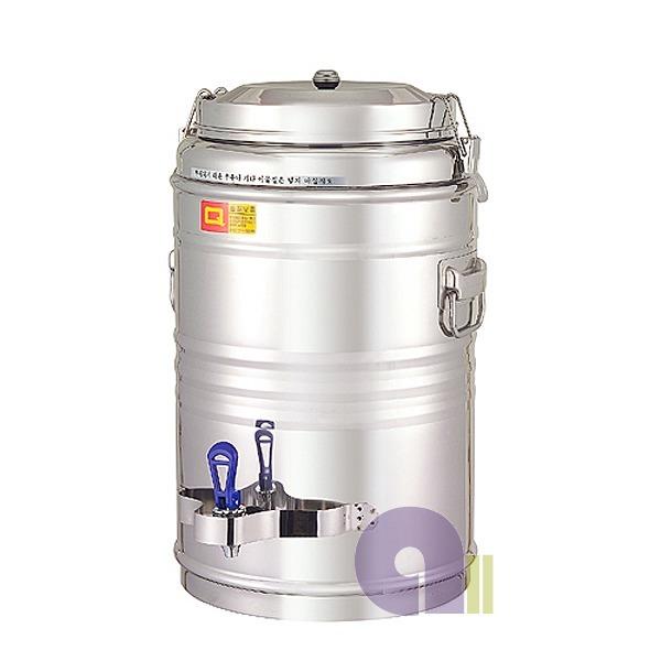보온보냉물통30호/보온물통/온수통/스텐물통