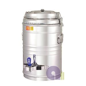 보온보냉물통60호/보온물통/온수통/스텐물통