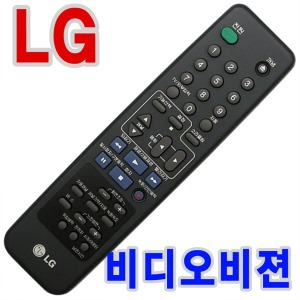 LG 엘지 금성 비디오 비젼 리모콘 리모컨/105-231T