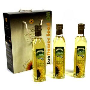 트로이 해바라기씨유 500x3 올리브오일 올리브유