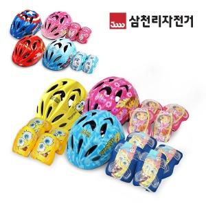 삼천리 디즈니 마블 겨울왕국 아동헬멧 보호대 자전거