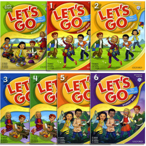 LET S GO 4판  Student Book with CD/begin/1/2/3/4/5/6단계/레츠고/렛츠고/옥스포드