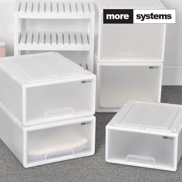 [모아시스템즈] 시스템 서랍장 중형 3개세트/플라스틱 서랍장/수납장
