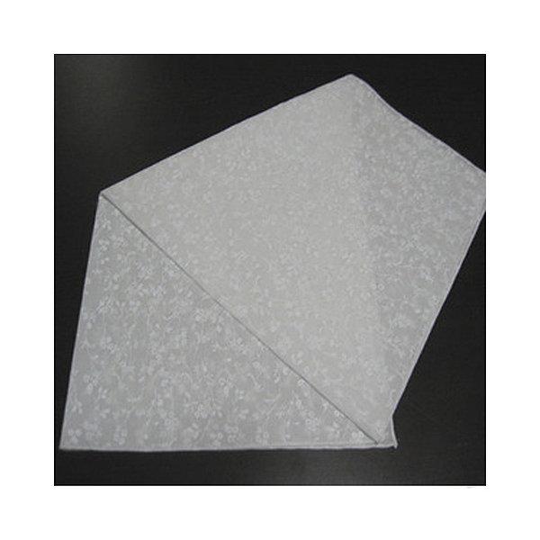 자카드 꽃 염색용 손수건(50x50cm)/10장세트/60수