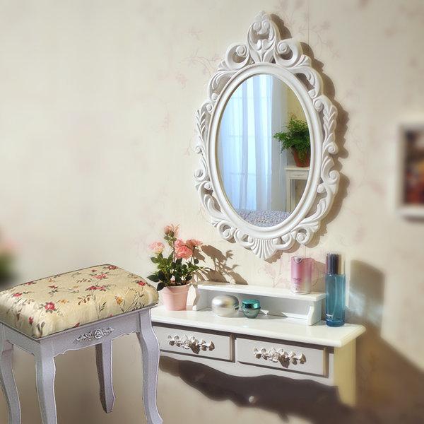 벽걸이 화장대 의자 조명 거울 LED