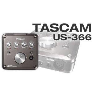 타스캠 US-366 오디오 인터페이스 24bit/192kHz대응