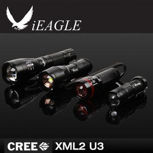 iEAGLE 정품 CREE XM-L2 U3/U4 후레쉬단품 XML T6세트