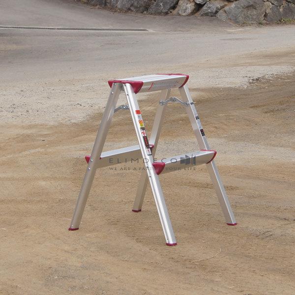 가벼운 2단 가정용사다리 알루미늄휴대용사다리
