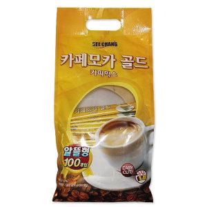 희창유업 카페모카 골드 커피믹스 12gX100T 8개입 BOX