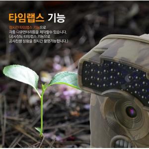 IR-6310 농촌형감시카메라 적외선캠코더 무선CCTV캠