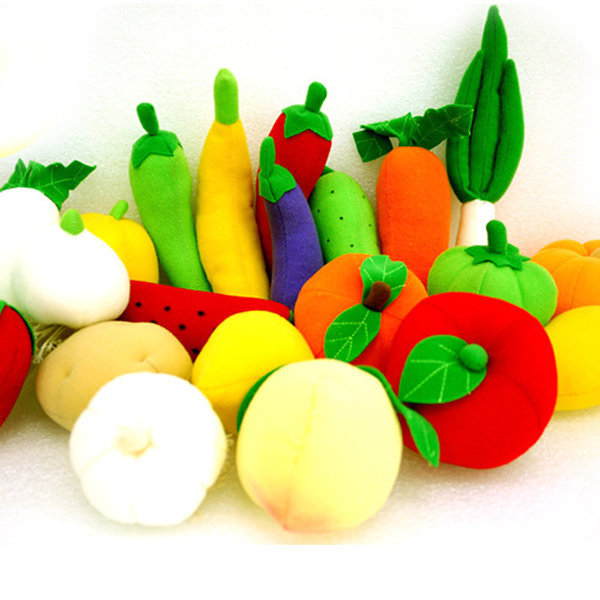 13620-과일야채놀이세트(22개입) 헝겊교구 펠트