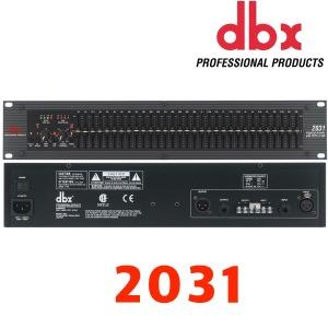 DBX 2031 이퀄라이저/싱글/31밴드/EQ