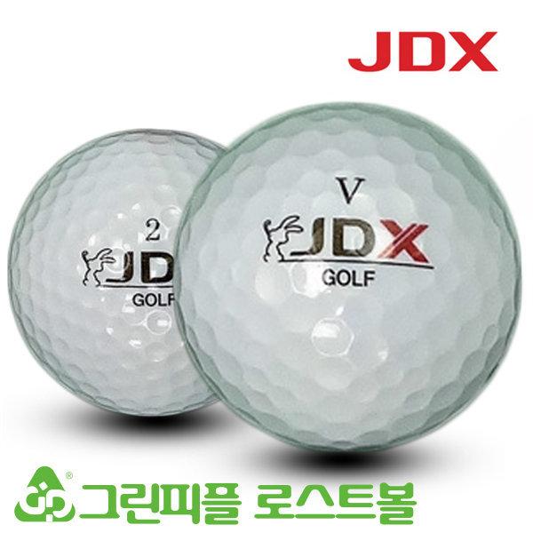 JDX 2피스 시리즈 혼합 골프공 A-급 로스트볼 16개