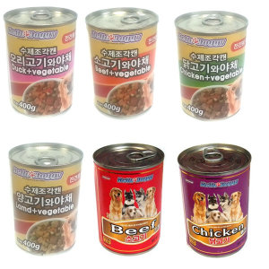 헬로도기 강아지캔400gX24개/애견간식