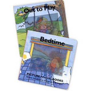 Picture Magic Book Set 1 : Out to Play  Bedtime(책 2권 + 테이프 1개)