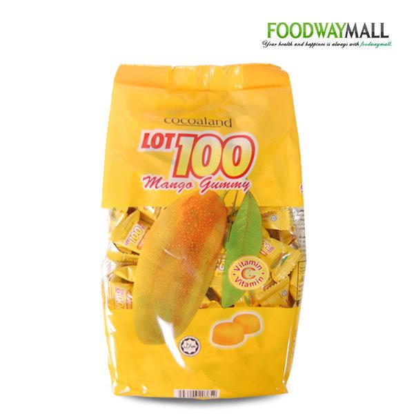 코코아랜드 LOT100 망고젤리 1kg (150개입) 망고구미