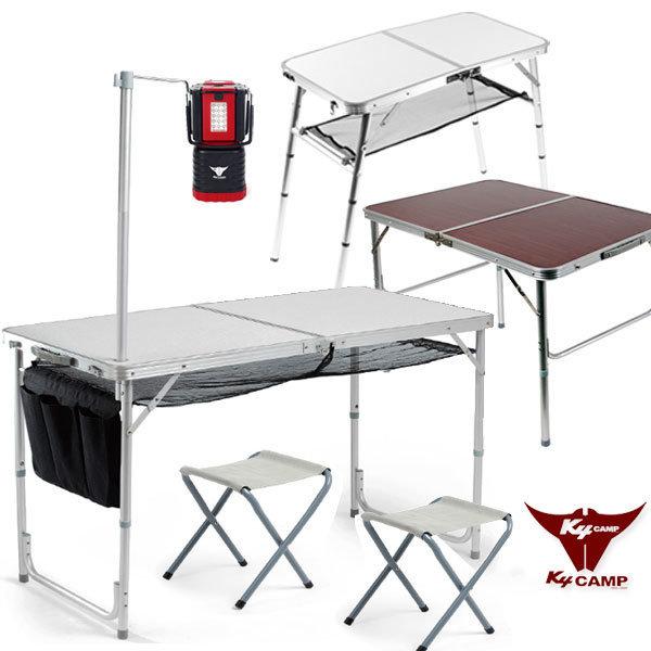 폴딩60~120 캠핑테이블+의자/접이식/피크닉/야외/매대 - 옥션