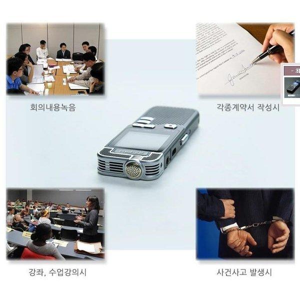 음성인식 잡음제거 고감도PCM 녹음기 MP3/HGFA1