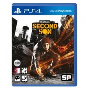 PS4 인퍼머스 세컨드 선 세컨드선/한글판/중고