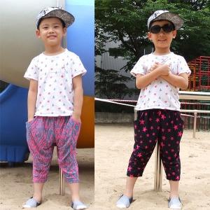 아동7부아이스바지/아동7부바지/아동바지/아동여름바