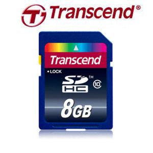 트랜샌드 SDHC 8GB CLASS10 /D7100/D600/D5200