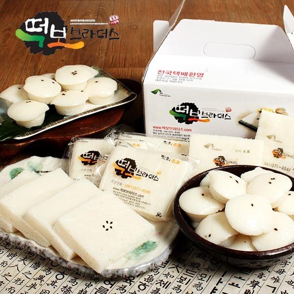 화순 떡보브라더스 기정떡3kg/방울기정떡/개별포장