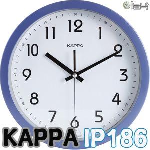 카파 IP186 저소음 벽시계 (지름26cm)/이클락