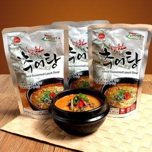 국산 미꾸라지로 만든 남원식추어탕 5팩