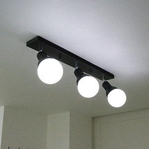 레이나 주방등 3등/레일조명 식탁등 LED겸용 카페
